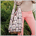 Petunia Pickle Bottom Faraway Fold Out Tote - Oslo in Bloom