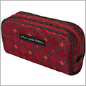 Petunia Pickle Bottom Brocade Powder Room Case - Spiced Crimson Roll
