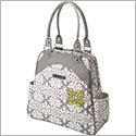 Petunia Pickle Bottom Glazed Sashay Satchel - Breakfast in Berkshire