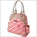 Petunia Pickle Bottom Glazed Sashay Satchel - Flowering Firenze