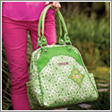 Petunia Pickle Bottom Glazed Sashay Satchel - Gardens in Glasgow