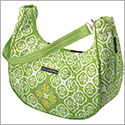 Petunia Pickle Bottom Glazed Touring Tote - Gardens in Glasgow