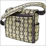 Z: Petunia Pickle Bottom *Brocade* Shoulder Diaper Bag - Citrine Roll