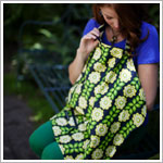 Z: Petunia Pickle Bottom Haven Nursing Cover - Passport to Prague