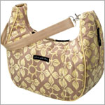 Z: Petunia Pickle Bottom *Chenille* Touring Tote - Lemon Ginger