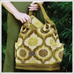 Z: Petunia Pickle Bottom CAKE Society Satchel - Key Lime Cream