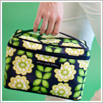 Z: Petunia Pickle Bottom *Glazed* Travel Train Case - Passport to Prague