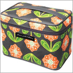 Z: Petunia Pickle Bottom *Glazed* Travel Train Case - Santiago Sunset