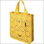 Z: Petunia Pickle Bottom Reusable Shopper Tote - Sunshine in Sardinia