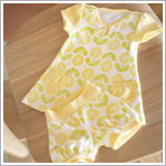Z: Petunia Pickle Bottom Delicate Dress Set - Spot of Sunshine