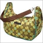 Z: Petunia Pickle Bottom Brocade Touring Tote - Jasmine Roll