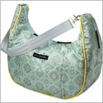 Z: Petunia Pickle Bottom Brocade Touring Tote - Lake Como Roll