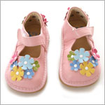 II: Rainbow Steps Light Pink Flower Petal Shoe *SQUEAKS*