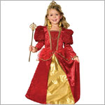 Z: WK Ruby Queen Costume - Size Medium 8-10