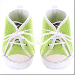 R: Confetti Lime And White Baseball Shoes