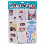 R: Frances Meyer Snip and Smile Baby Boy Scrapbook Kit