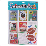 R: Frances Meyer Team Spirit Scrapbook Kit