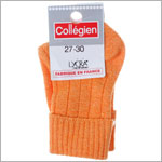 R: Collegien Orange Socks