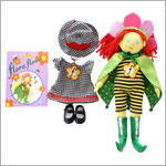 R: Tiny Powers Flora Flower Doll Set