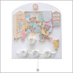 R: Domiva Teddy Bear Musical Wall Decor