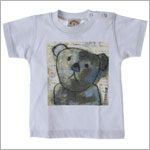 R: Petit Boy S/S Gray Bear Tee