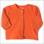 R: Petit Boy Orange Cardigan