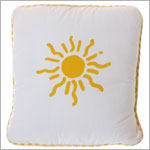 R: Belinda Barton *Suns And Stars* Throw Pillow