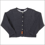 R: Zunia Navy And White Striped L/S Shirt