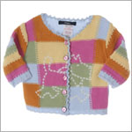 R: Chipie Rainbow Sweater With Scotti Dog