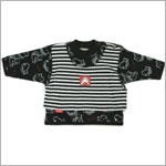 9m: Klim Baby's Klim Family Black & White Sweatshirt