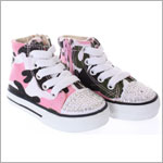One Ruby Lane  Big Tiff High Top Camo Sneaker Shoes