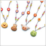 Russ *Charming Egg-Cessories* Springtime Necklace *MANY CHOICES*
