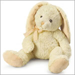 Russ Medium Cream Hippity Bunny