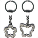 Russ Du Jour Keyring Bling - Shapes