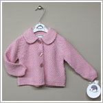 Sarah Louise Pink Knitted Cardigan