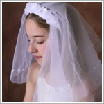 Sarah Louise Ceremonial Headband Veil