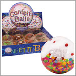 Schylling Confetti Bouncy High Bounce Ball