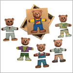 Schylling Moody Bear Puzzle - Ernest