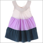 Scout Cream/Orchid/Teal Tiered Play Dress