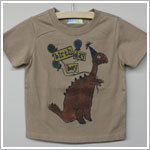 She's The One *Birthday Boy* Brown Dinosaur Shirt