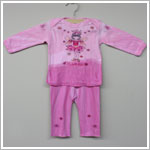 She's The One L/S Pink *Little Sister* 2 Pc Set
