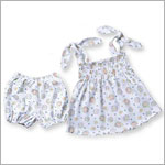 Snopea Indian Summer Smocked Sun Top and Bloomer Set