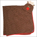 Sozo Rudolph Swaddle Blanket & Hat Set