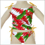 2y II: Submarine *Hawaiian Ginger* 2pc Tankini Swimsuit