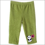 Sweet Potatoes *Panda Kimonium* Green Soft Cord Pants