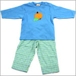 6y II: Sweet Potatoes You're My Pumpkin Pie Applique Tee and Pant Set