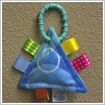 I: Taggies - Take Along *Colours Collection* Blue Bubbles