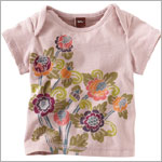 Tea Light Rose S/S Begonia Bouquet Tee