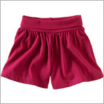 Tea Raspberry Island Swing Shorts