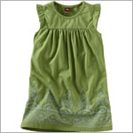 Tea Green Verdant Jaya Peak Play Dress